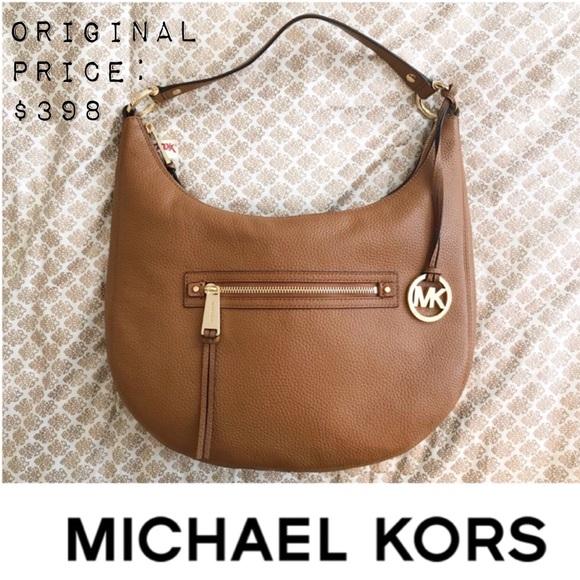 70f8c7aa375978 Michael Kors Bags   Nwt Rhea Zip Hobo Bag   Poshmark